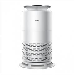 海尔 KJF330/MFA 空气净化器家用 海尔净化魔方除PM2.5 甲醛 银色