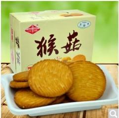 江顺猴头菇饼干680g 饼干蛋糕早餐食品批发 一盒