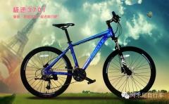阿米尼极速3701 自行车 珍珠白