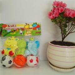 凯利K8096婴儿儿童洗澡玩具洗澡宝宝洗澡玩具戏水玩具捏捏响公仔