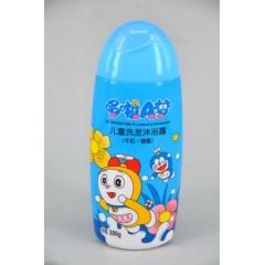 哆啦A梦 儿童洗发沐浴露 牛奶+蜂蜜 300g