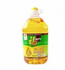 福临门菜籽原香食用调和油5L