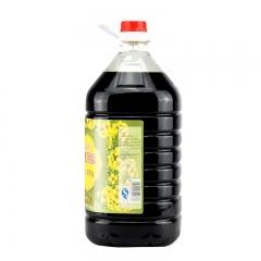 口福纯正压榨菜籽油5L特香醇正川菜专用菜子油
