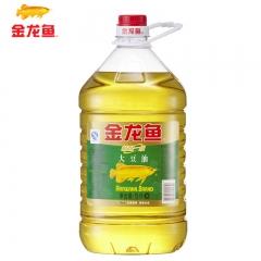 金龙鱼  精炼一级大豆油 5L/桶 食用油 色拉油