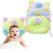 新生婴儿防偏头卡通定型枕(动物图案随机)